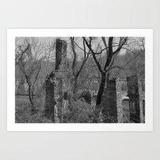 Rural Ruins Art Print