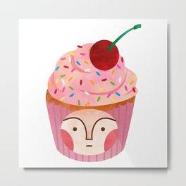 cupcake kid Metal Print