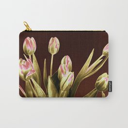 Still Life of Majestic Tulips Carry-All Pouch