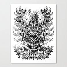 Heraldic Phoenix Canvas Print