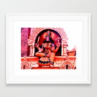 hindu Framed Art Prints featuring Hindu 2 by very giorgious