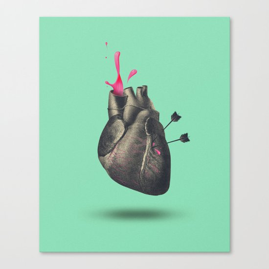 heart of sugar Canvas Print