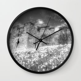 York City Walls Wall Clock