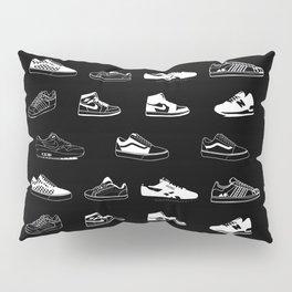 Black Sneaker Pillow Sham