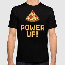 pizza power up T-shirt