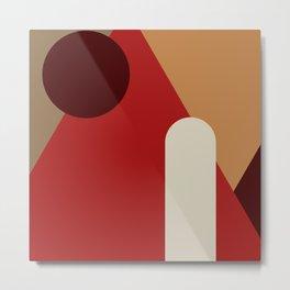 Abstract Harmony 18 Metal Print