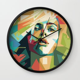 Scarlett Johansson - Mad4U Wall Clock