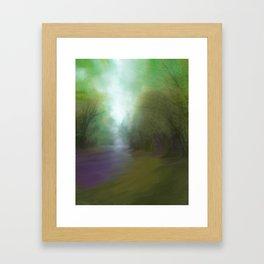 Stream of Light Framed Art Print