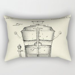 Caffee Urn-1890 Rectangular Pillow