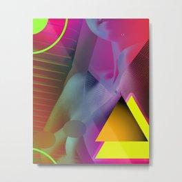 Body Deconstructions Metal Print