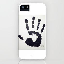 Handprint iPhone Case