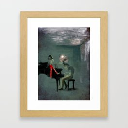 Just for one day Framed Art Print
