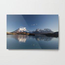 Torres Del Paine Patagonia Chile Metal Print