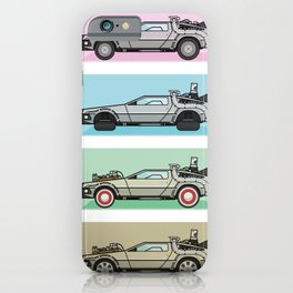 Time Machine - Back to the Future iPhone Case