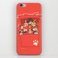 haikyuu iPhone & iPod Skins featuring Haikyuu!! Nekoma Team by Kim Quim