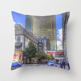 Canary Wharf London Throw Pillow