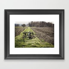 Out of Season Framed Art Print