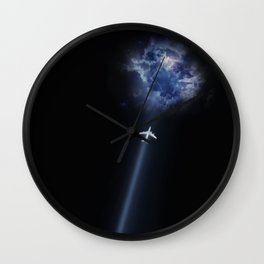 fly to nowhere Wall Clock