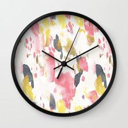 Splatter 03 Wall Clock