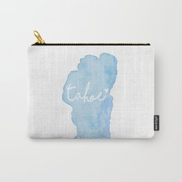Shoreline Shape of Lake Tahoe  Carry-All Pouch