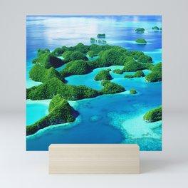 Glimpses of Heaven: Palau 70 Islands In Micronesia Mini Art Print