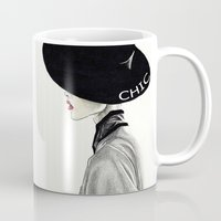chic Mugs featuring Chic by Tania Santos