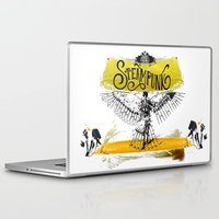 steampunk Laptop & iPad Skins featuring SteamPunk by Genco Demirer