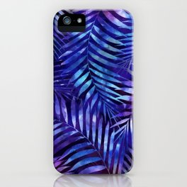 Violet jungle vibes iPhone Case
