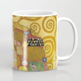 The Embrace - Gustav Klimt Coffee Mug