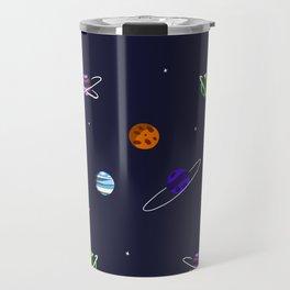 Reach For The Galaxies Travel Mug