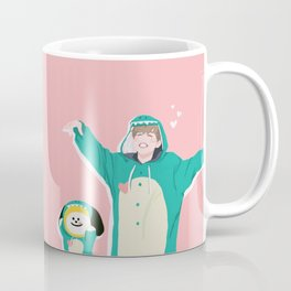 Dinosaur Chimmy (Pink Ver.) Coffee Mug