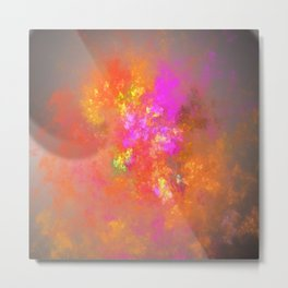 Give your light to the world! Metal Print