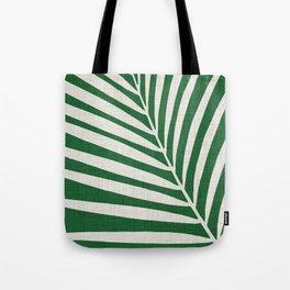 Minimalist Palm Leaf Tote Bag