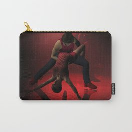 Two Jazz Dancers in Red Carry-All Pouch