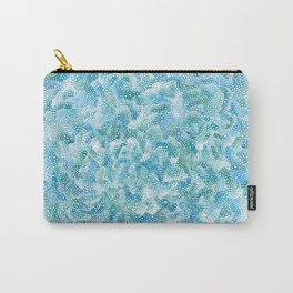blue and green bubbles Carry-All Pouch