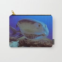 Snooty Shark Portrait Carry-All Pouch