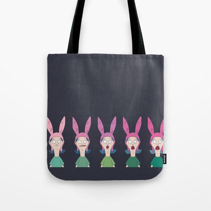 5 X Louise Belcher Tote Bag