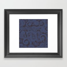 Paisley Platinum Framed Art Print