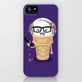 Ice Cream Coneover iPhone Case