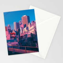 Early Morning Tokyo Stationery Cards