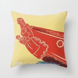 Moms Ahoy Throw Pillow