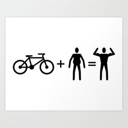 Cycle Math Art Print