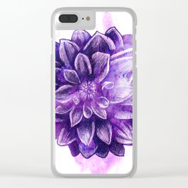 Flower V.2 Clear iPhone Case