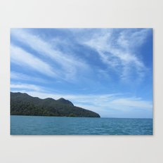Datai Bay, Andaman Sea Canvas Print