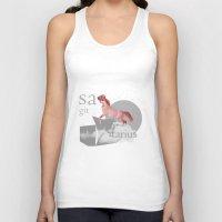 sagittarius Tank Tops featuring sagittarius by Rosa Picnic