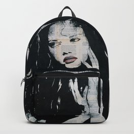 Green eyes, red lips Backpack