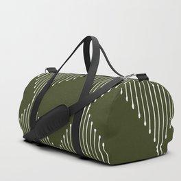Geo (Olive Green) Duffle Bag