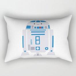 Itty Bitty R2D2 -- droid kawaii nursery art print Rectangular Pillow