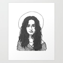 St. Mary of Egypt Art Print
