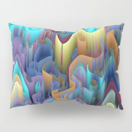 labyrinth mountains Pillow Sham